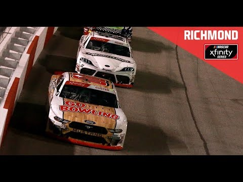 Full Xfinity Race: Go Bowling 250 | NASCAR at Richmond Raceway