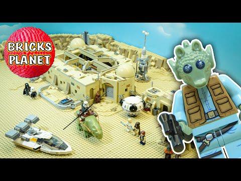 Vidéo LEGO Star Wars 75290 : Cantina de Mos Eisley