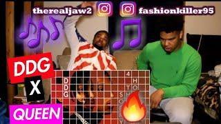 DDG   Hold Up (Audio) Ft. Queen Naija REACTION!!