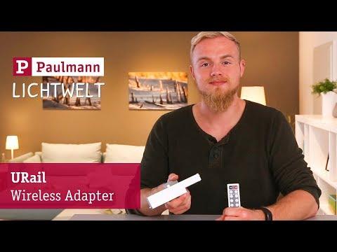 URail Wireless Adapter: URail-Leuchten einzeln schalten