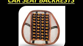 Buy CAR SEAT BACKRESTS Online