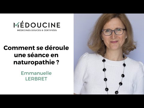 Une séance en naturopathie avec Emmanuelle Lerbret