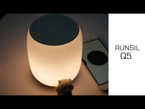 Interessantes Amazon Gadget: Runsil Q5 - Tischlampe + Bluetooth Box auf Akku - Review - Moschuss.de