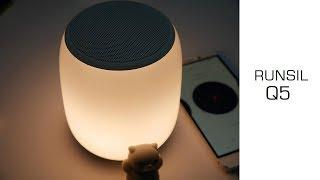 Interessantes Amazon Gadget: Runsil Q5 - Tischlampe + Bluetooth Box auf Akku - Review - Moschuss.de