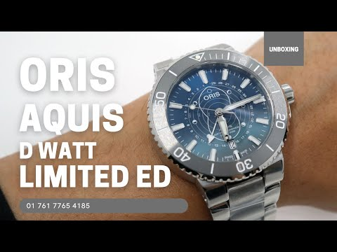 Oris Aquis Dat Watt Limited Edition 01 761 7765 4185-Set