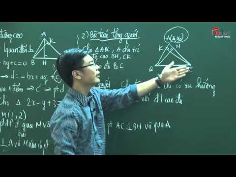 Lập pt đường thẳng - tiết 4 ( Nguồn: ST)
