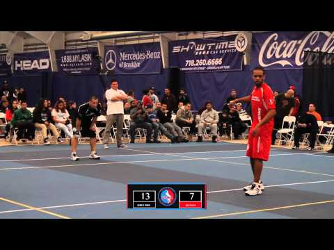 Wall Ball Pro Tournament - Mikey & Spider (BX) vs PSP & Paulie (BK)