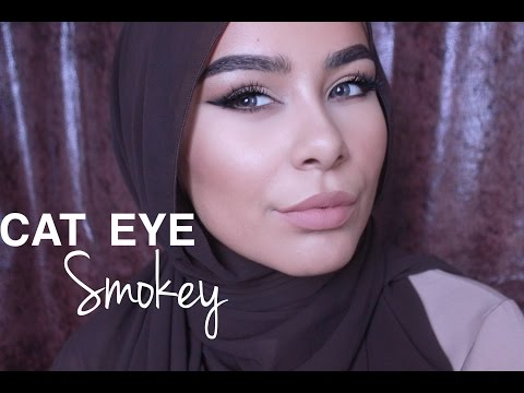 Cat Eye Smokey Makeup Tutorial