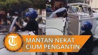Viral di Medsos, Pria Nekat Hentikan Mobil Mantan Kekasihnya yang akan Menikah