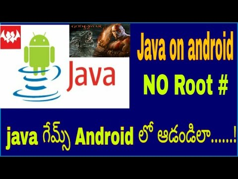 How to install java games on android No Root