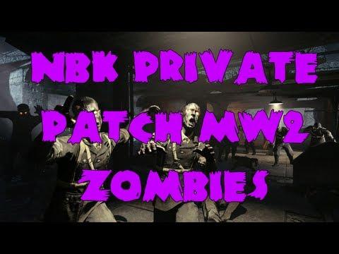 MW2 NBK Private Patch v3 4 1: AI Zombies Extreme - смотреть