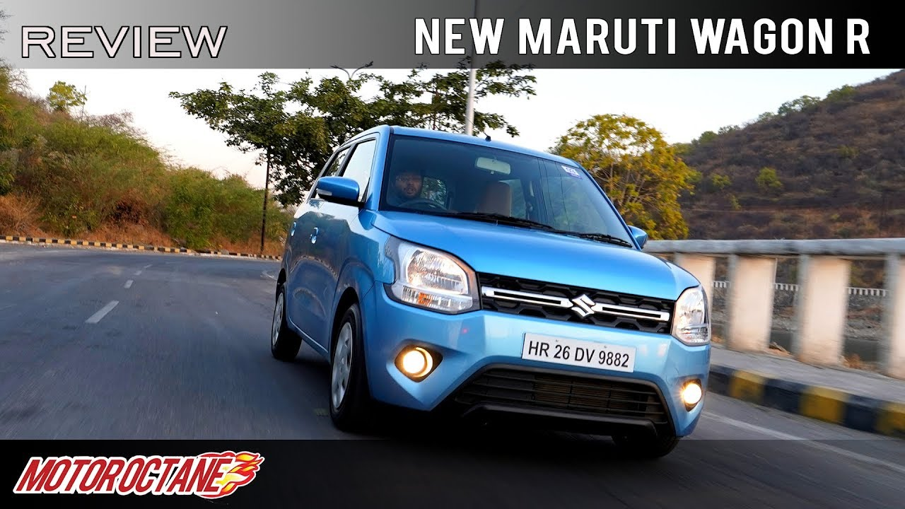 Motoroctane Youtube Video - New Maruti Wagon R 2019 | Review in Hindi | MotorOctane