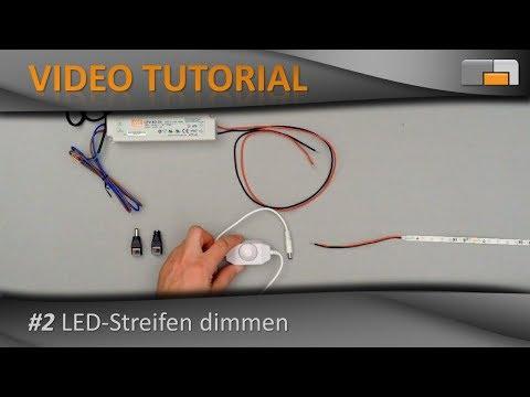 LED Anleitung - Teil 2: LED-Streifen dimmen