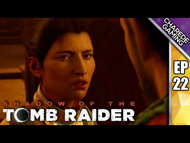 Ch'Amaka's War Vest | Shadow Of The Tomb Raider Ep 22 | Charede Plays