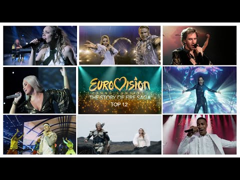 Eurovision Song Contest: The Story of Fire Saga - Top 12 Original Songs