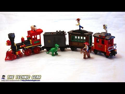 Vidéo LEGO Toy Story 7597 : Course poursuite dans le train du Far West