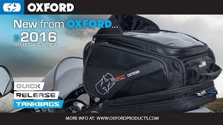 Oxford Quick Release Tank Bags: How to use!