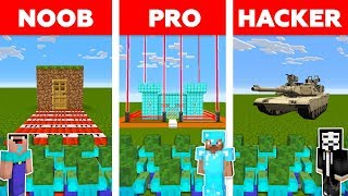 Minecraft NOOB vs PRO vs HACKER : ZOMBIE APOCALYPSE CHALLENGE in minecraft / Animation