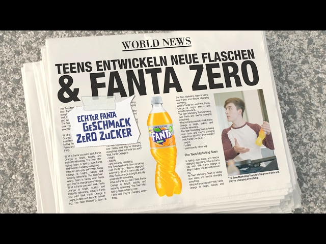 Fanta | TEEN MARKETING OFFICER