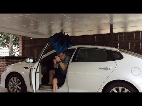 Better Brella Reverse Open Close Umbrella Review