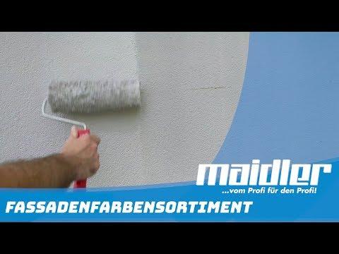 Fassade richtig streichen -Tipps vom Profi