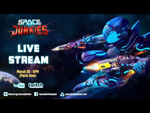 Space Junkies: LIVESTREAM - Launch | Ubisoft thumbnail