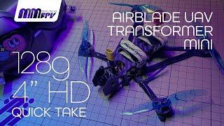 "Airblade Transformer Mini 128g 4"" DJI Digital HD Frame Quick Take"