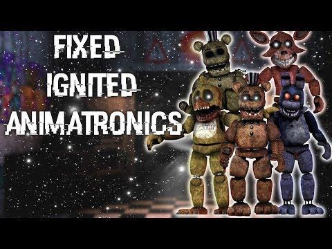 FNAF | Speed Edit] Making Fixed Phantom Animatronics
