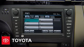 2010 Prius How-To: SiriusXM Satellite Radio   Toyota
