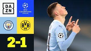 90. Minute! Phil Foden schockt BVB: Man City - Dortmund 2:1 | UEFA Champions League | DAZN