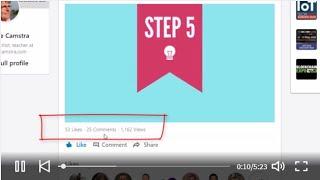 Free tutorial animation for Linkedin