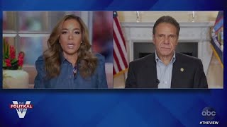 The View's Sunny Hostin Praising Andrew Cuomo For His 'Understanding Of How To Manage The Pandemic'