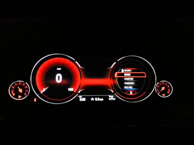 Digital-dash-in-new-bmw