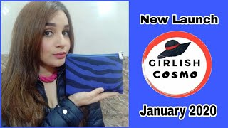 New Launch *GirlishCosmo* | January 2020 | Unboxing + Review   |
