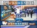 Exit Poll On IndiaTV: BJP 104-114 seats, Congress 65-75 seats as of now seen forming the govt