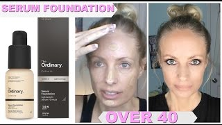 The Ordinary Colours Serum Foundation | FOUNDATIION OVER 40