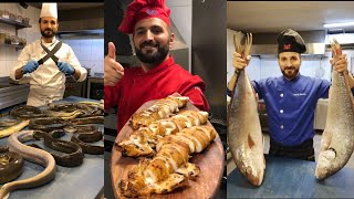 SEAFOOD SHOW 🦞🐟 by faruk chef . İnstagram: @faruk_cheff