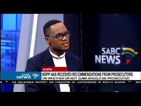 NPA prosecutors make submission on Zuma Charges - Aldrin Sampear explains