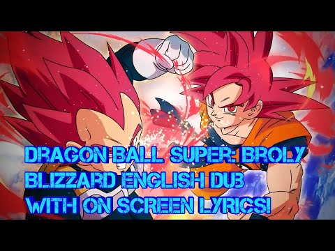 Dragon Ball Super: Broly Official Blizzard English Dub With On Screen Lyrics - DJShadz YT
