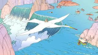 Video MusicDialog.World - White Bird over Magic Islands
