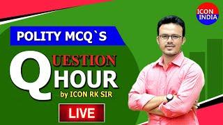 POLITY MCQS || 6301468565 || Download ICON INDIA App