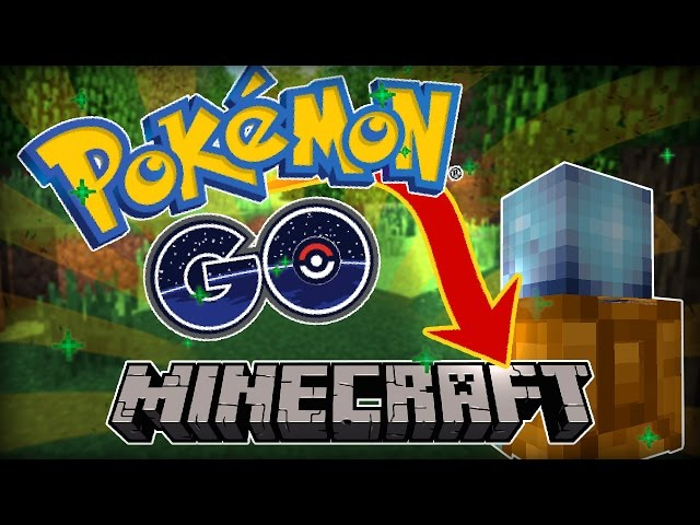 Pokemon GO Starters in Minecraft! - Cimap