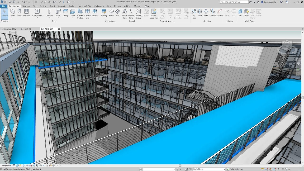 Revit 2019.1: Improved Work with Perspective Views