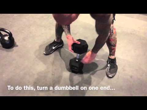 How To Do Kettlebell Swing With Dumbbell