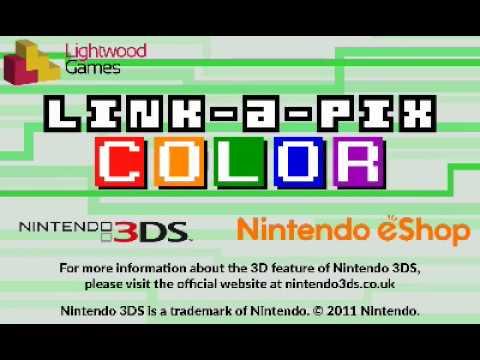 Link-a-Pix Colour for Nintendo 3DS Trailer thumbnail