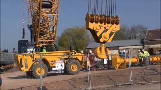 preview picture of video 'Taunton Third Way bridge lift preparation'