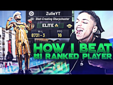 How I Beat The #1 Ranked Player In NBA 2K19