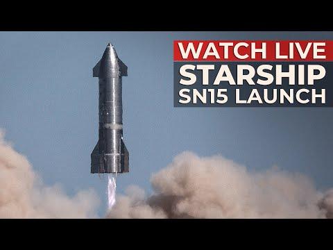 Watch Live: Starship SN15 PreformsHigh-Altitude Flight Test