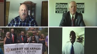 Four candidates running to be GOP's nominee for Maricopa County sheriff