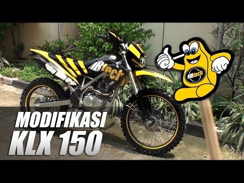 Video Modifikasi Trailfie KLX 150 BF SE